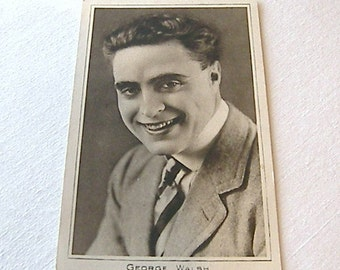 George Walsh, Black and White Postcard, Old Black and White Postcard No 8