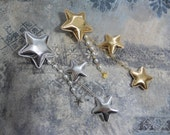 Starry Night Star clip 47 silver