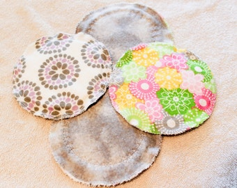 Set of 2 Pairs of Washable Breast Pads