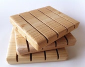 Cedar Soap Deck, Wooden Soap Dish, Drying Board, Rustic Bath Accessory, Gift