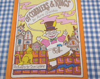 SALE of cobblers and kings, vintage 1978 children's book