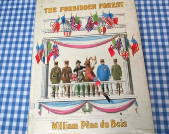 the forbidden forest, vintage 1978 children's book