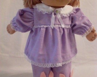 "16"" Girl Cabbage Patch Lavender Pajamas"