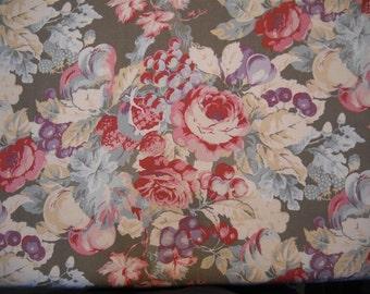 Laura Ashley fabric-Multipurpose-Floral- Home Decor Fabric-