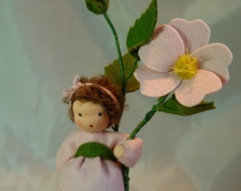 Dog Rose - Flower Child - Waldorf  Inspired - Nature Table