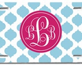 Personalized, Monogrammed License Plate