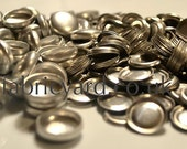 Size 36 / 23mm Flat Self Cover Buttons - Metal Pack of 100no.