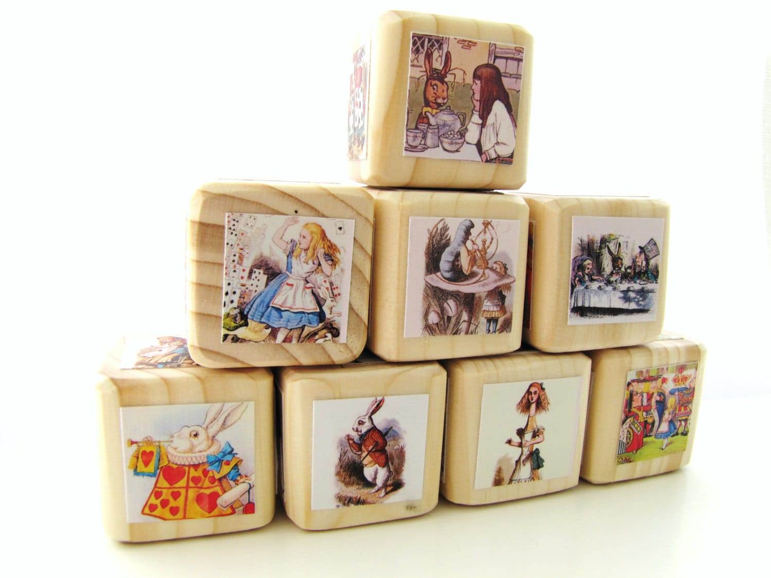 Alice In Wonderland Baby Blocks Nursery Decor Amp Baby By