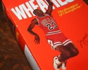Michael Jordan Unopened Wheaties Box 1989 Part 2: College