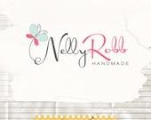 Butterfly logo design premade boutique logo photographer logo femine logo dreamy logo