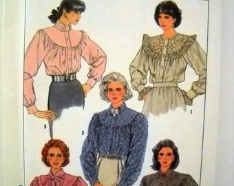 1980s Simplicity 8301 UNCUT - Misses Loose Blouse