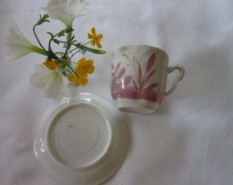 Vintage Hand painted Cup
