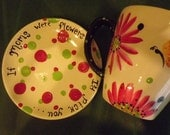 Daisy Mom Cup and saucer