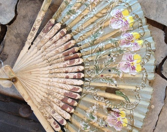 3 Antique Fans Sold very as is