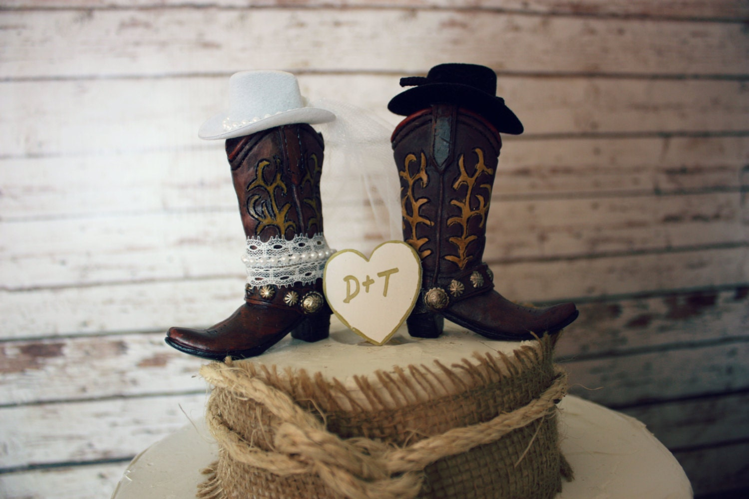 cowboy themed wedding cake toppers western cowboy boots wedding cake topper western 13026