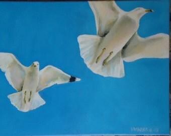 Take Flight II 12x16 Acrylic Canvas
