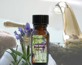 Lavender & Rosemary Essential Oil Pure (Undiluted) Aromatherapy .5 oz