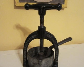 Antique Meat Juice Press