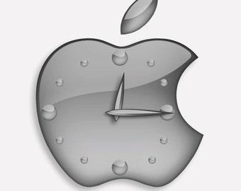 Apple Design Icon Wall Clock Gift