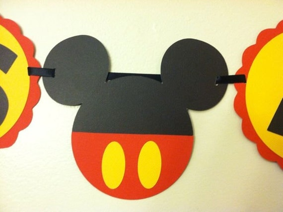 mickey mouse baby shower banner its a boy ready to pop baby boy