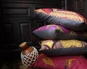 African Wax Print FLOOR cushions/ EURO Sham - OSxN