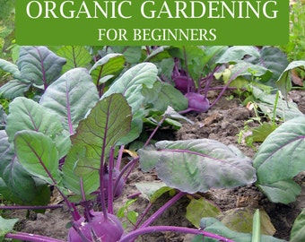 ORGANIC GARDENING For BEGINNERS Everything You Need To Know To Start Your  Own Garden