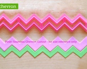 Skinny Seamless Chevron Cutter (open ended)