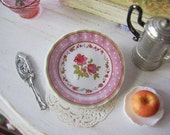 Pink Perfection Dollhouse Plate