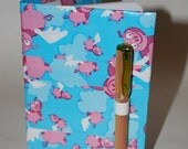 Reusable Duct Tape Mini Composition Book Cover