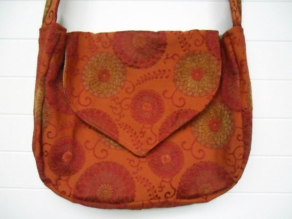 Hippie Bohemian Bag Purse Computer Bag Messenger