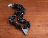 Dark Roasted Coffee Bean Necklace - From Ethiopia to you
