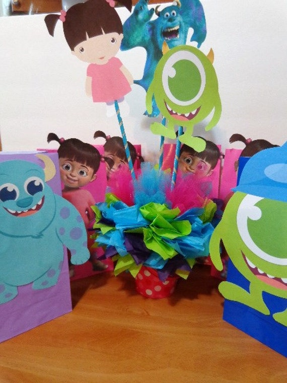 Monsters Inc. Centerpiece
