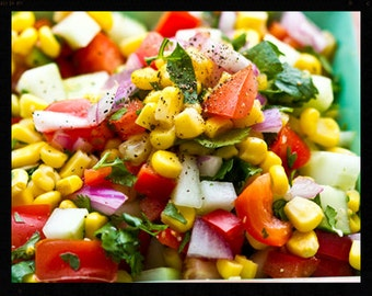 Amish Corn Salad~~~Instant Download~~~Back By Request