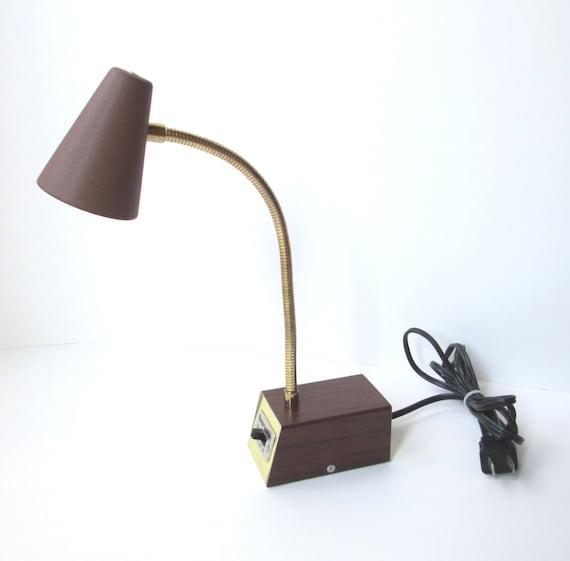 vintage tensor desk lamp mid century gooseneck lamp. Black Bedroom Furniture Sets. Home Design Ideas