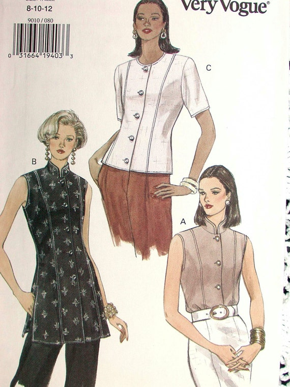 Very Easy Blouse Pattern 107