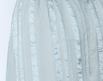 secret PAL - silk skirt Maxi skirt turquoise