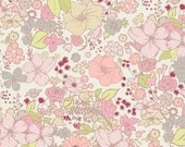 Coquette - Fashion Scent in Peach by Pat Bravo - Liberty Floral - Per Yard