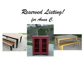 Reserved Listing Anna C