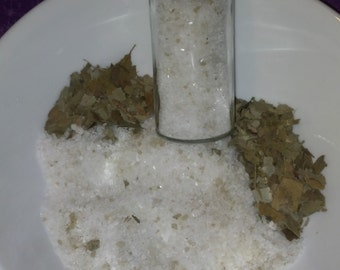 Herbal Bath Salts (eucalyptus, thyme, basil)