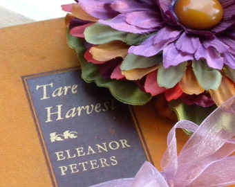 Vintage book UP CYCLED Home Decor, Gift, Book Lover, Cottage Country Collection Collectables