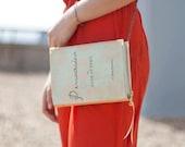 Jane Austen Persuasion Book Clutch