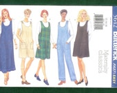 Butterick 5642 Misses' Maternity Jumper, and Overalls, Sizes 12, 14, 16 UNCUT