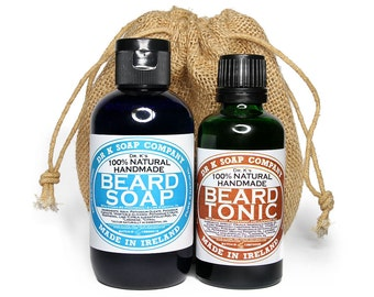 GIFTS FOR DADS - On Sale, Beard Care Set, All Natural and Handmade in Ireland, Fathers Day Gifts