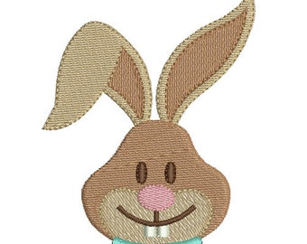 Instant download Easter bunny embroidery design
