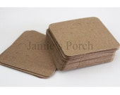 Blank Earring kraft  Paper Card for Jewelry and Accessories..100pcs(Medium)