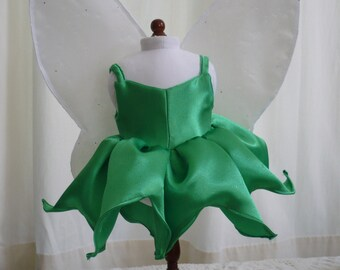 Tinker Bell Dress and Fairy Wings for American Girl Doll