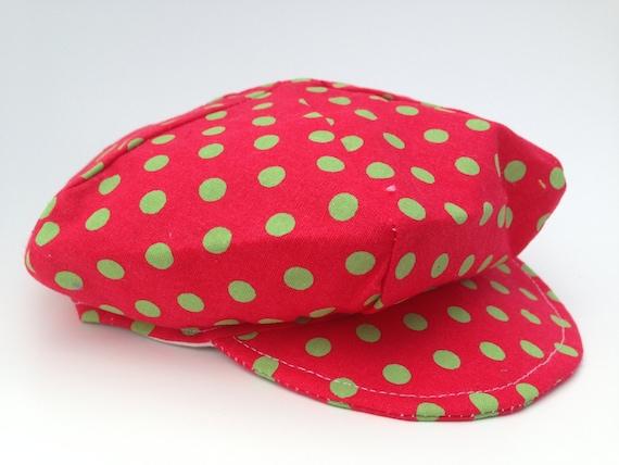 SALE Newborn Newsboy Hat for Girls