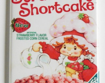 Strawberry Shortcake Cereal Fridge Magnet