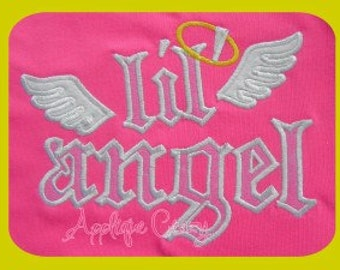 LiL' Angel Applique design