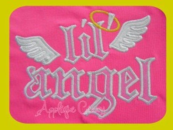 LiL' Angel Applique design